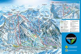 New Mexico Ski Resorts Map by Trail Map Snowbird
