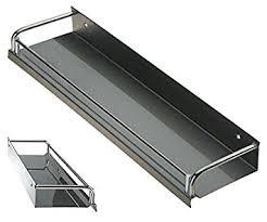 etagere aluminium cuisine acier inoxydable étagère de cuisine étagère murale étagère à épices