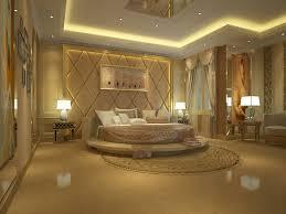 modern luxury bedroom design pink tufted upholstered combine gold