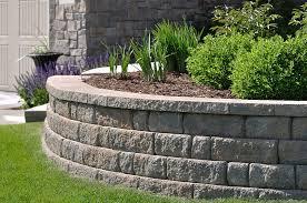 walls retaining wall installation ipswich m u0026m landscaping
