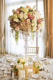 candelabra centerpieces reception décor photos candelabrum floral centerpiece