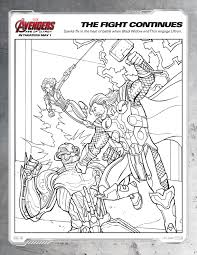 marvel printable coloring pages avengers age of ultron u2013 the