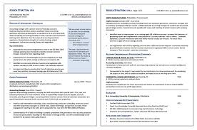 Staff Accountant Sample Resume by Sample Resume Gallery Your Career Forward