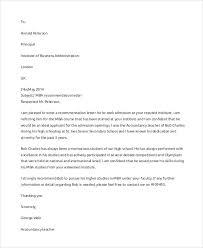 ideas of best recommendation letter examples with additional job