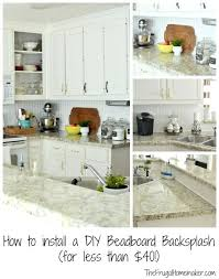 easy to install kitchen backsplash how to install backsplash in kitchen and faux subway tile easy