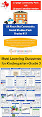 social studies k 3 printable pack meet learning outcomes