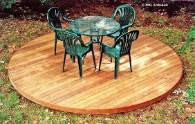 Wooden Patio Decks by Circular Deck Lexington Ma U2013 Suburban Boston Decks And Porches Blog