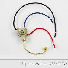 lamp zipper switch retro pull chain ceiling light wall lamp switch