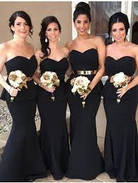 black bridesmaid dresses bridesmaid dresses collection hubz