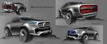 blac chyna jeep mercedes x class truck concept is way more posh than the nissan