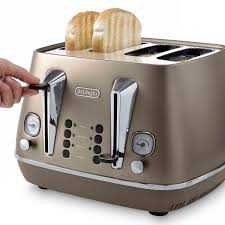 Delonghi Kettle And Toaster Cream Delonghi Distinta Bronze 4 Slot Toaster Cti4003 Bz Ireland