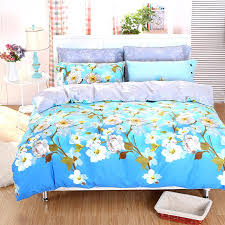 Twin Plaid Bedding by Country Style Cherry Blossom Daisy Bird Plaid Bedding Sets Twin