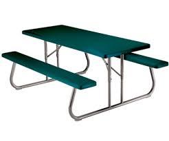Lifetime Personal Table 6 Ft Folding Picnic Table Hunter Green