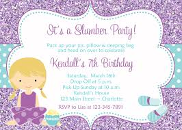 tips to create slumber party invitations ideas u2014 all invitations ideas