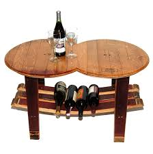 wooden barrel coffee table wooden barrel coffee table for the