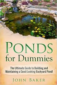 Backyard Pond Building Ponds For Dummies The Ultimate Guide To Building And Maintaining