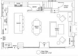Open Concept Kitchen Family Room Floor Plan Kitchen Floor Plan - Family room floor plans