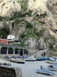 Cliffside Restaurant Italy by Things Have Changed Marina Di Praia