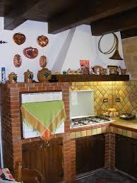 Cucine In Muratura Usate by Cucina Rustica I Miei Lavori Di Intonaco Stampato E Pietra Naturale