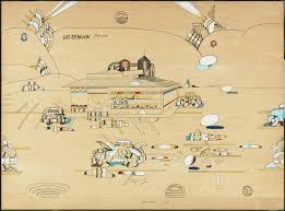Smith College Map Search Steinberg U0027s Artwork Saul Steinberg Foundation
