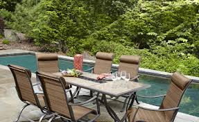 Metal Outdoor Dining Chairs Patio U0026 Pergola Beautiful Metal Patio Dining Sets Soak Up The