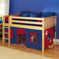 Full Size Loft Beds For Girls by Maxtrix Kids Mansion Full Size Low Loft Bed