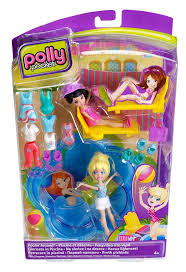 amazon polly pocket poolin playset toys u0026 games