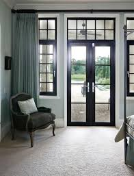 Black Trim Windows Decor Black Windows White Skirts Black Accents Turquoise Features