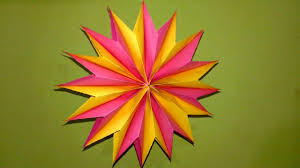 Diwali Decoration Ideas For Home How To Make Paper Star At Home For Diwali Diwali Decoration