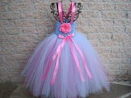 tutu dress blue n pink stretch bodice 1 3 toddler