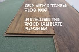 Fitting Laminate Floor Installing Wood Laminate Flooring New Kitchen Video No7 Youtube