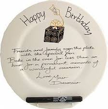 signing plate 70th birthday signing plate rd box home kitchen