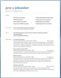 resume templates for word free resume exles microsoft word exles of resumes