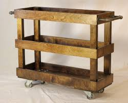 Kitchen Island Rolling Cart Kitchen Rolling Cart Bamboo Wooden Kyoto Kitchen Trolley Rolling