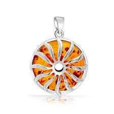 amber necklace pendant images Honey amber sunburst pendant gemstone 925 sterling silver jpg