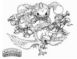 film skylanders villains skylanders coloring pages printable