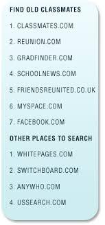 classmate search classmate search websites