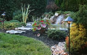 Outdoor Water Features With Lights by 50 Pictures Of Backyard Garden Waterfalls Ideas U0026 Designs
