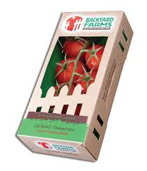 Backyard Farms Organic Food Packaging What Consumers Want Johnsbyrne