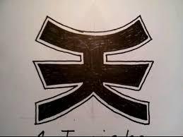 draw pink power ranger mia super samurai symbol paper