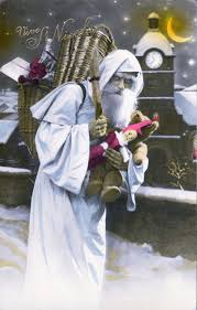 bad santa 10 vintage christmas cards that terrify the tinsel out