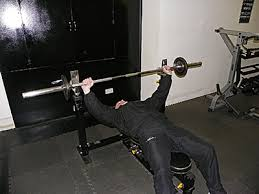 Wide Grip Bench Press For Chest Barbell Exercise List Box Fitness Gym In Worcester