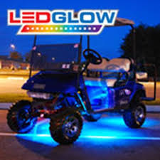 golf cart led strobe lights king of carts golf cart led lights roof led parts