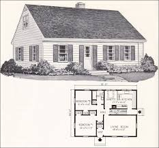cape home plans 1961 weyerhauser home plans design no 4130 cape cod style