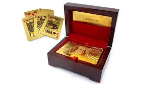 24k gold plated cards groupon goods