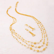 necklace sets designs images Buy necklace sets online temple jewellery gold plated neckace jpg