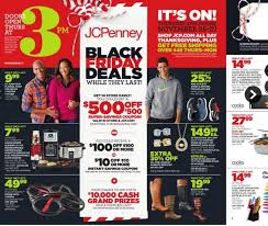 black friday magazine thanksgiving sales jcpenney releases black friday ad kfor com