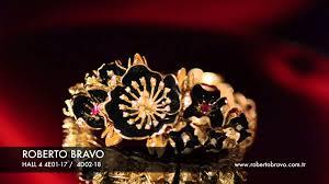 roberto bravo istanbul jewellery show 2013 collection youtube
