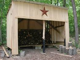 Diy Firewood Rack Plans by 10 Wood Shed Plans To Keep Firewood Dry The Self Sufficient Living