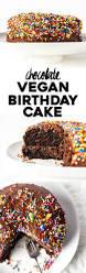 chocolate vegan birthday cake the almond eater